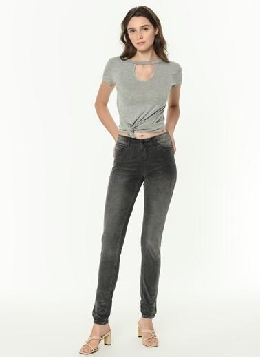 Vero Moda Vero Moda Pantolon Antrasit